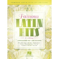Famous Latin Hits Piano Solo Arr Evans 2Nd Edition