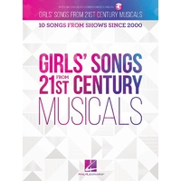 Girls Songs From 21St Century Musicals Bk/Ola