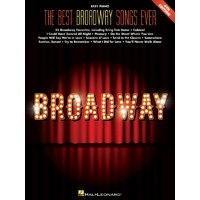 THE BEST BROADWAY SONGS EVER EASY PIANO 4TH EDITION