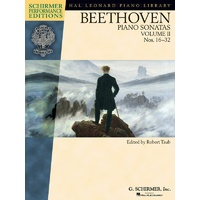 Beethoven Piano Sonatas 16-32 V2 Book Only Spe