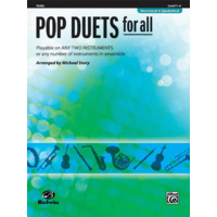 Pop Duets For All - Violin Edition Book *NEW* Music Level 1-4