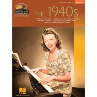 1940S PIANO PLAY ALONG BK/CD VOL 55