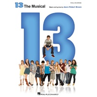 13 THE MUSICAL VOCAL SELECTIONS PVG