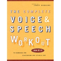 Complete Voice And Speech Workout Bk/Cd