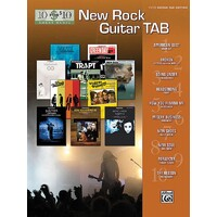 10 FOR 10 NEW ROCK GUITAR TAB