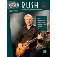 Rush - Ultimate Guitar Play-Along TAB Book & CD *NEW* Sheet Music, Tom Sawyer