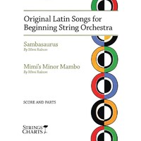 Original Latin Songs Beginning String Orchestra