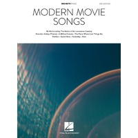 Modern Movie Songs Big Note Piano 3Rd Edition