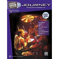 Journey - Ultimate Drum Play-Along Book & 2 Cd *New* Sheet Music Drums