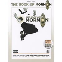 THE BOOK OF MORMON Piano Vocal Song Book *NEW* Music Songs