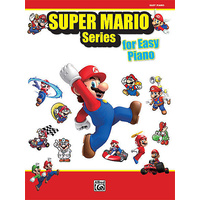 Super Mario Series For Easy Piano *New* Sheet Music Book Nintendo Video Game