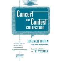 Concert And Contest French Horn Cd Only