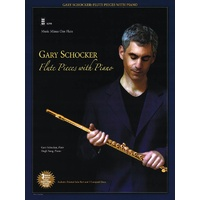 Gary Schocker Flute Pieces With Piano Bk/3Cd