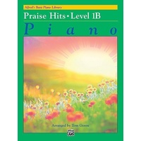 Alfred'S Basic Piano Library Praise Hits Level 1B Book *New* Music Alfred