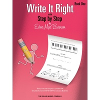 Write It Right Bk 1