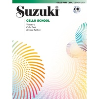 SUZUKI CELLO SCHOOL BK 1 BK/CD