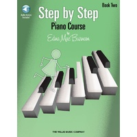 Step By Step Piano Course Bk 2 Bk/Cd