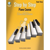 STEP BY STEP PIANO COURSE BK 3 BK/CD