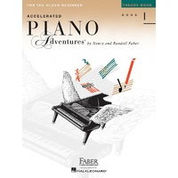 ACCELERATED PIANO ADVENTURES BK 1 THEORY INT ED