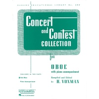 Concert And Contest Oboe Solo Part