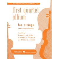 First Quartet Album For Strings For 2 Vln/Vla/Vc