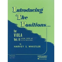 Introducing The Positions For Viola Bk 2