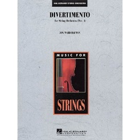 Divertimento For String Orchestra So 3-4