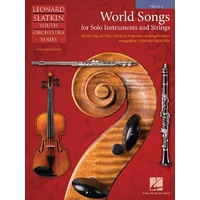 World Songs For Solo & Strings Violin 2