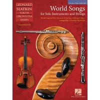 World Songs For Solo & Strings Violin 3 (Viola Tc)