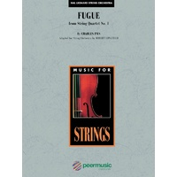 Fugue From String Quartet No 1 So Sc/Pts