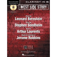 West Side Story Bk/Cd Clarinet