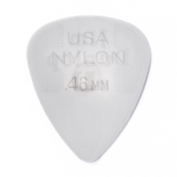 Jim Dunlop Nylon Grey Guitar Pick .46mm