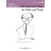 Old American Songs Flute/Piano Bk/Ola