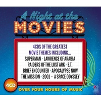 A NIGHT AT THE MOVIES - Various Artists 4CD *NEW* 2017