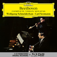 SCHNEIDERHAN - Beethoven Complete Violin Sonatas 3CD + BluRay Audio 2020