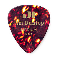 Celluloid Shell Pearloid Medium Guitar Pick