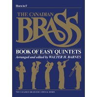 Canadian Brass Easy Quintets French Horn