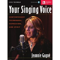 Your Singing Voice Bk/Cd