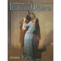 Anthology Of Italian Opera Soprano