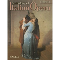 Anthology Of Italian Opera Baritione