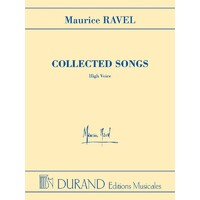 Ravel Collected Songs High Voice