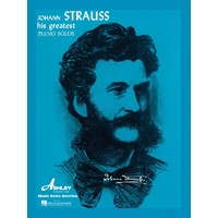 Strauss His Greatest Piano Solos