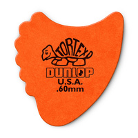 Tortex Fin Guitar Pick .6mm