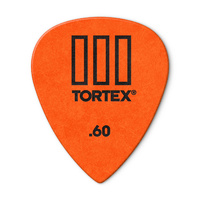 Tortex TIII Guitar Pick .6mm