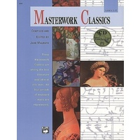 Masterwork Classics, Level 1 & 2 Piano Solo Book & Cd *New* Ed. Jane Magrath