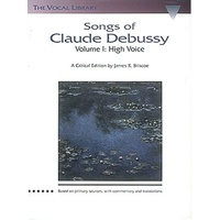 Songs Of Claude Debussy High Voice