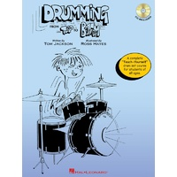 DRUMMING FROM TOP TO BOTTOM BK/CD