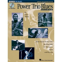 Power Trio Blues Guitar Bk/Cd