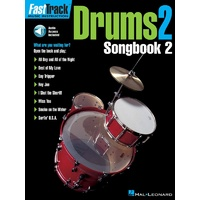 Fasttrack Drums Songbook 2 Level 2 Bk/Ola