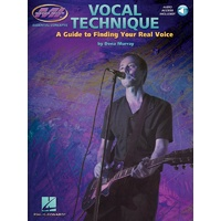 Vocal Technique Guide To Finding Real Voice Bk/Ola